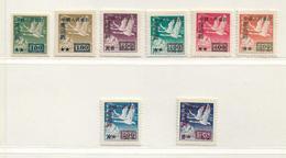 CHINE  ( AS - 391 )   1950  N° YVERT ET TELLIER  N° 853/860   N* - 1949 - ... Volksrepublik