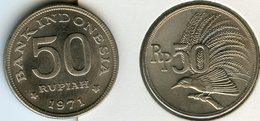 Indonesie Indonesia 50 Rupiah 1971 KM 35 - Indonésie
