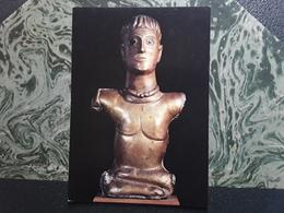 Buste DIEU AU TORQUES, BOURAY S JUINE, Essonne,1 Er Siecle Ap JC,Saint Germain En Laye , Musee Des Antiquités Nationales - Belle-Arti