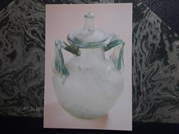 Urne Gallo Romaine En Verre , Sépulture De DOUELLE , Lot ,,Saint Germain En Laye , Musee Des Antiquités Nationales - Belle-Arti