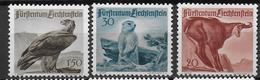 LIECHTENSTEIN - YVERT N° 228/230 * MLH - COTE = 25 EUR. - ANIMAUX - Liechtenstein