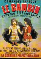 PUB Publicité NUGERON   BB 1 FRIANDISES - Le BAMBIN Nouveau Bébé Incassable  (B) (poupée Poupon) *PRIX FIXE - Advertising