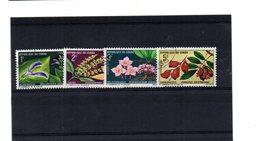 EDY 869 - CONGO 1970, 4 Valori Usati A Tema FIORI - Repubblica Democratica Del Congo (1964-71)