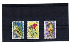 EDY 870 - CONGO 1971, 3 Valori Usati A Tema FIORI - Repubblica Democratica Del Congo (1964-71)