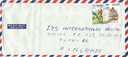 DRC RDC Zaire Congo 1981 Goma World Cup Football Argentina 100k Mushroom Phallus Indusiatus Cover - 1980-89: Afgestempeld