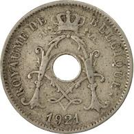 Monnaie, Belgique, 10 Centimes, 1921, TB+, Copper-nickel, KM:85.2 - 04. 10 Centimes