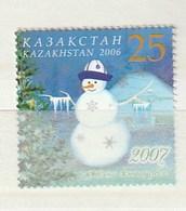 Kazakhstan 2006 N.Year-Snowman (1) UM - Kazajstán