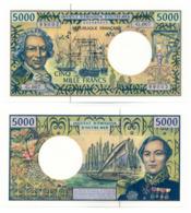 INSTITUT D'EMISSION D'OUTRE MER // Cinq Mille Francs // UNC - Billets