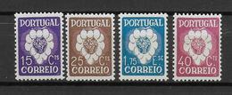 PORTUGAL - YVERT N° 588/591 * MLH - COTE = 52.5 EUR. - - 1910-... République
