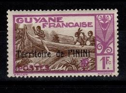 Inini - YV 18 N* (à Peine Une Trace) La Bonne Valeur Pas Courante Cote 21 Euros - Unused Stamps