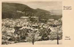 Meiningen Im Schnee  [E121 - Meiningen