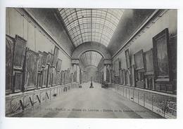 CPA 75 Paris Musée Du Louvre Entrée De La Grande Galerie 1233 - Louvre