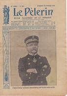 LE PELERIN 1916 13 Février Photos De Guerre, Amiral Dartige Du Fournet, Le Casque De Nos Poilus, Poincaré - 1900 - 1949