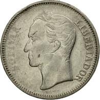 Monnaie, Venezuela, Bolivar, 1967, British Royal Mint, TB+, Nickel, KM:42 - Venezuela