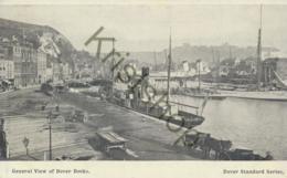 Dover - General View Of Dover Docks  [E1337 - Dover