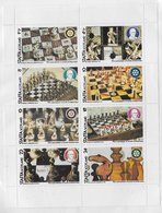 Staffa; Chess Echecs Schaken Ajedrez; Perforated Scouting  Rotary; Gold O/p - Local Issues