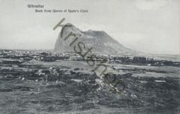 Gibraltar - Rock From Queen Of Spain's Chair  [E1351 - Gibraltar