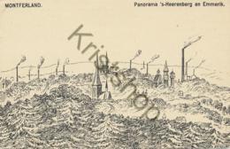 Montferland - Panoram 's Heerenberg En Emmerik - Pentekening  [E1415 - Non Classificati