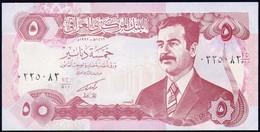 IRAQ : 5 Dinars - P80 -  1992 - UNC - Iraq