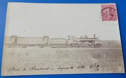 Carte Photo Plaine De Senescourt - Express De Lille 4h 1/2 - Train - Sonstige Gemeinden