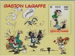 BF34 - FRANCE Bloc N° 34 Neuf** Gaston Lagaffe Fête Du Timbre - Blocchi & Foglietti
