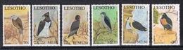 Lesotho MiNr. 1786-91 Postfrisch/ MNH (Vög2520 - Lesotho (1966-...)