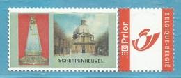 MYSTAMP BELGIUM  // A39 - GEBOUWEN - SCHERPENHEUVEL  ** MNH . SUPER SALE - Private Stamps