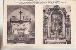 BREUVANNES               INTERIEUR DE L EGLISE - France