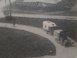"""Camion Ambulance Du Camp Anglais Sur """"Les Terrasses"""" - Près Le Tréport - Other Municipalities"""