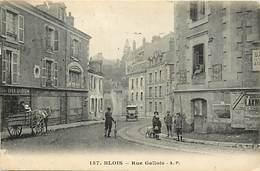 -dpts Div.-ref-AD235- Loir Et Cher  - Blois - Rue Gallois - Magasin Daubord - Magasins - Carte Bon Etat - - Blois