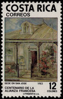Costa Rica 1983 French Alliance Unmounted Mint. - Costa Rica