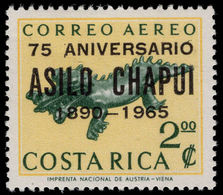 Costa Rica 1965 Chapui Hospital Unmounted Mint. - Costa Rica