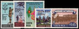 Costa Rica 1968 Scouts Unmounted Mint. - Costa Rica