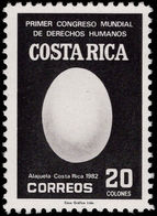 Costa Rica 1983 Human Rights Unmounted Mint. - Costa Rica