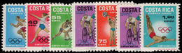 Costa Rica 1969 Olympics Unmounted Mint. - Costa Rica