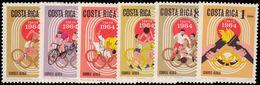 Costa Rica 1965 Olympics Unmounted Mint. - Costa Rica