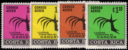 Costa Rica 1970 Cancer Congress Unmounted Mint. - Costa Rica