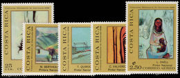 Costa Rica 1970 Costa Rican Paintings Unmounted Mint. - Costa Rica
