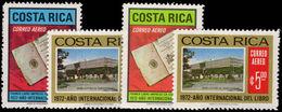 Costa Rica 1972 International Book Year Unmounted Mint. - Costa Rica