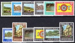 Costa Rica 1972-73 American Tourist Year Unmounted Mint. - Costa Rica