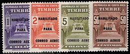 Costa Rica 1974 Air Set Unmounted Mint. - Costa Rica