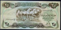 IRAQ : 25 Dinars - P66b -  1980- AUNC - Iraq