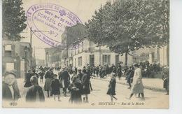 GENTILLY - Rue De La Mairie (cachet Militaire HOPITAL AUXILIAIRE N°7 ) - Gentilly