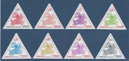 Monaco Taxe - YT N° 63 à 70 - Neuf Sans Charnière - 1980 - Strafport