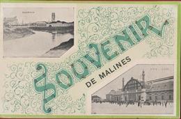 Souvenir De Mailines Mechelen Fantaisie Fantasiekaart Carte CPA - Malines
