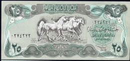 IRAQ : 25 Dinars - P74 - Emergency Note -  1990 - UNC - Iraq