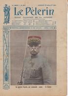LE PELERIN 1916 ' 23 Juillet, Photos De Guerre, Général Fayolle, Le Tsar, Front Russe, La Somme, épisodes De Guerre, - Livres, BD, Revues