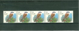 Belgique Oiseaux De Buzin - Coil Stamps