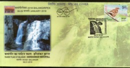 India 2018 Tourism Harishankar Waterfall Hills Geology Special Cover # 6857 - Other