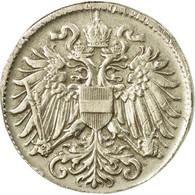 Monnaie, Autriche, Franz Joseph I, 10 Heller, 1916, TTB+, Copper-Nickel-Zinc - Autriche